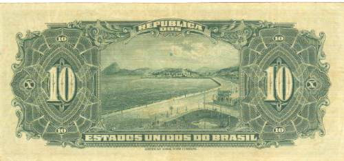brasil - 10 mil réis, r-110c, 1936, cédula república (sob-).