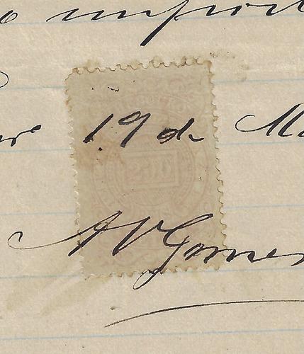 brasil 1886 nota fiscal estabelecimento de fazendas rj