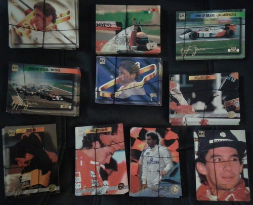 brasil 1994 20 cards lançados pela multieditora ayrton senna