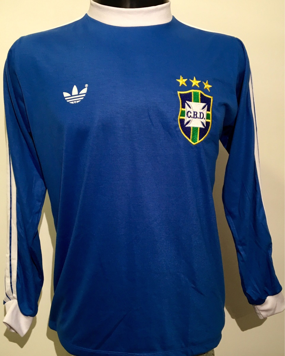 brasil  8 zico adidas retrô 1978 tam.g manga longa nova cbd. Carregando  zoom. 5c0b00781bc7a