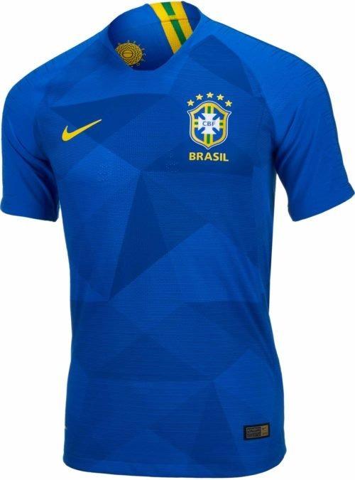 Brasil Azul Mundial 2018 Nike Playera Camisa Jersey Neymar