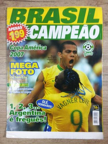 brasil campeão  copa américa 2007