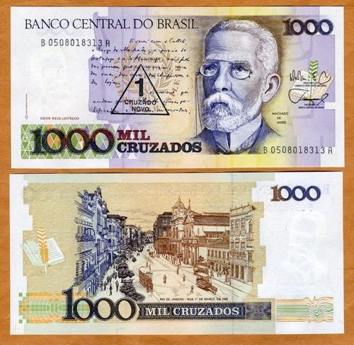 brasil cruzado novo cédula