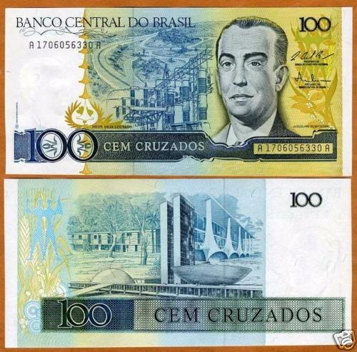 brasil cruzados cédula