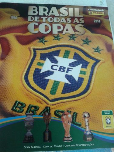 brasil de todas as copas 2014 album
