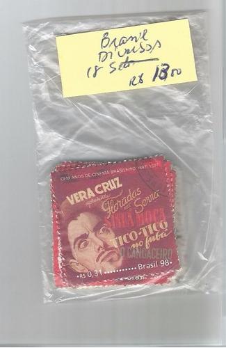 brasil - diversos - 18 selos