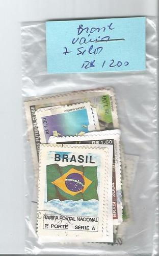brasil - diversos - 7 selos