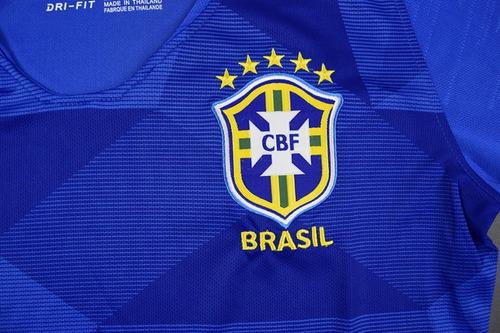 5783654f1e Camisa Brasil Feminina Azul - Copa Do Mundo 2018 - R  403