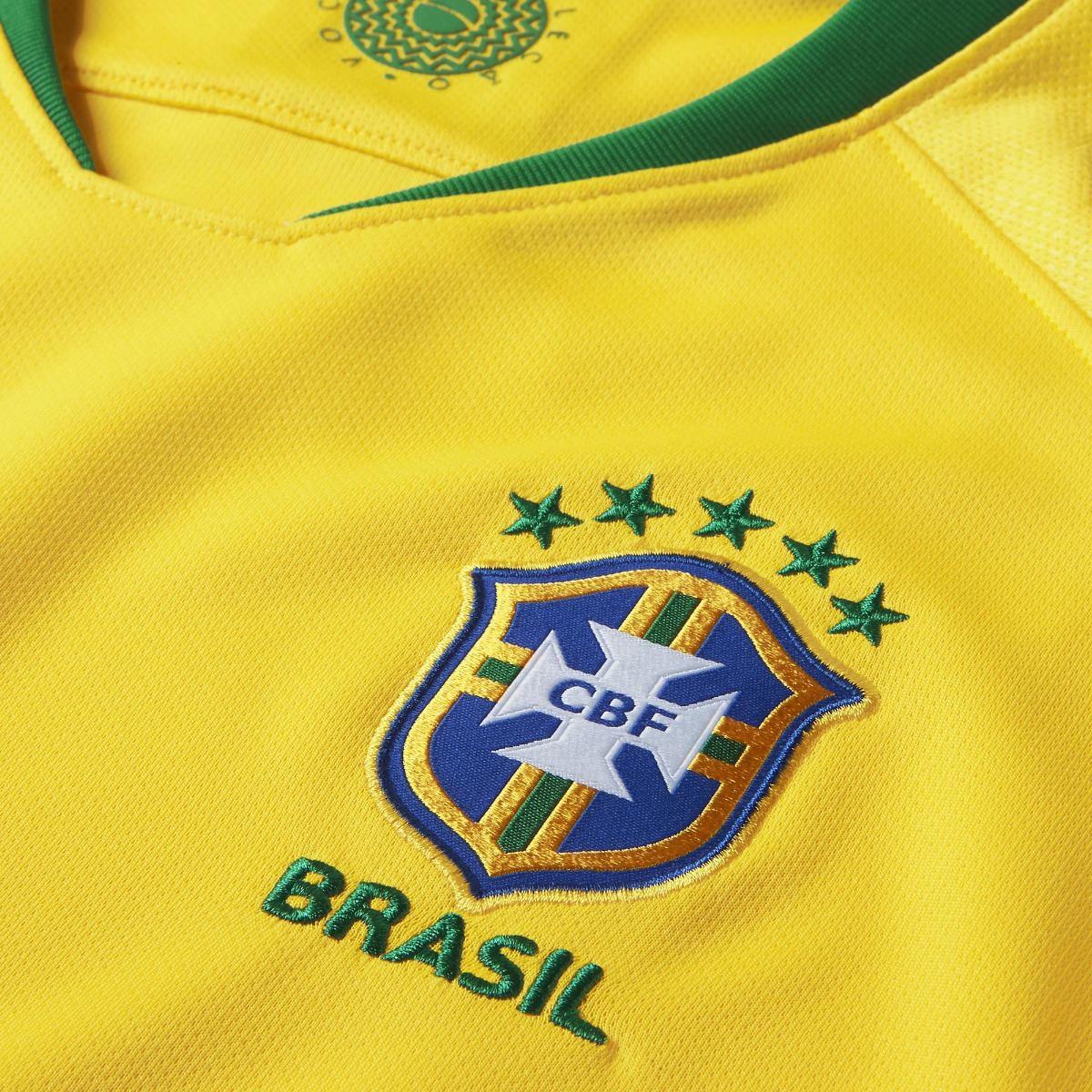 Camisa Nike Seleção Brasil I 2018 19 Feminina - Original - R  249 9939ca4e1177d
