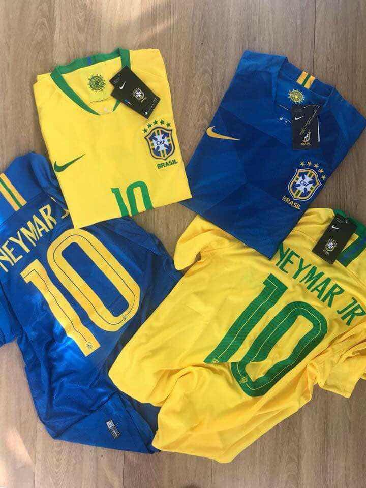 Camisa Nike Brasil I 2018 19 Jogador Masculina - R  350 35aa6b5fae74c