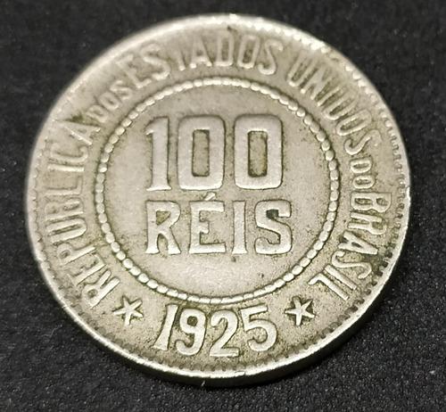brasil - moneda de 100 reis - año 1925