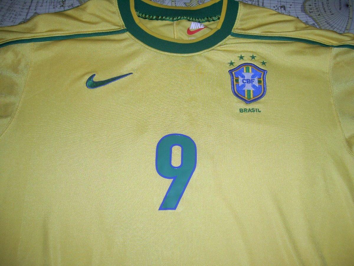 d6352dc29 brasil nike mundial francia 98  9 ronaldo original de epoca. Cargando zoom.