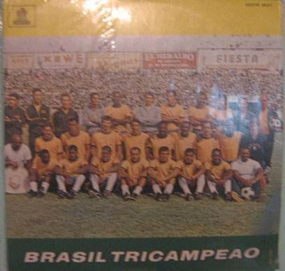 brasil - tri - campeão 1970 odeon-3637 -mono