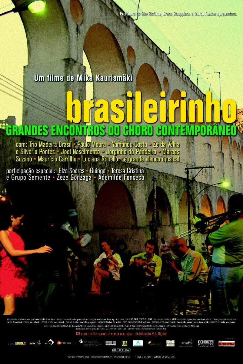 dvd brasileirinho