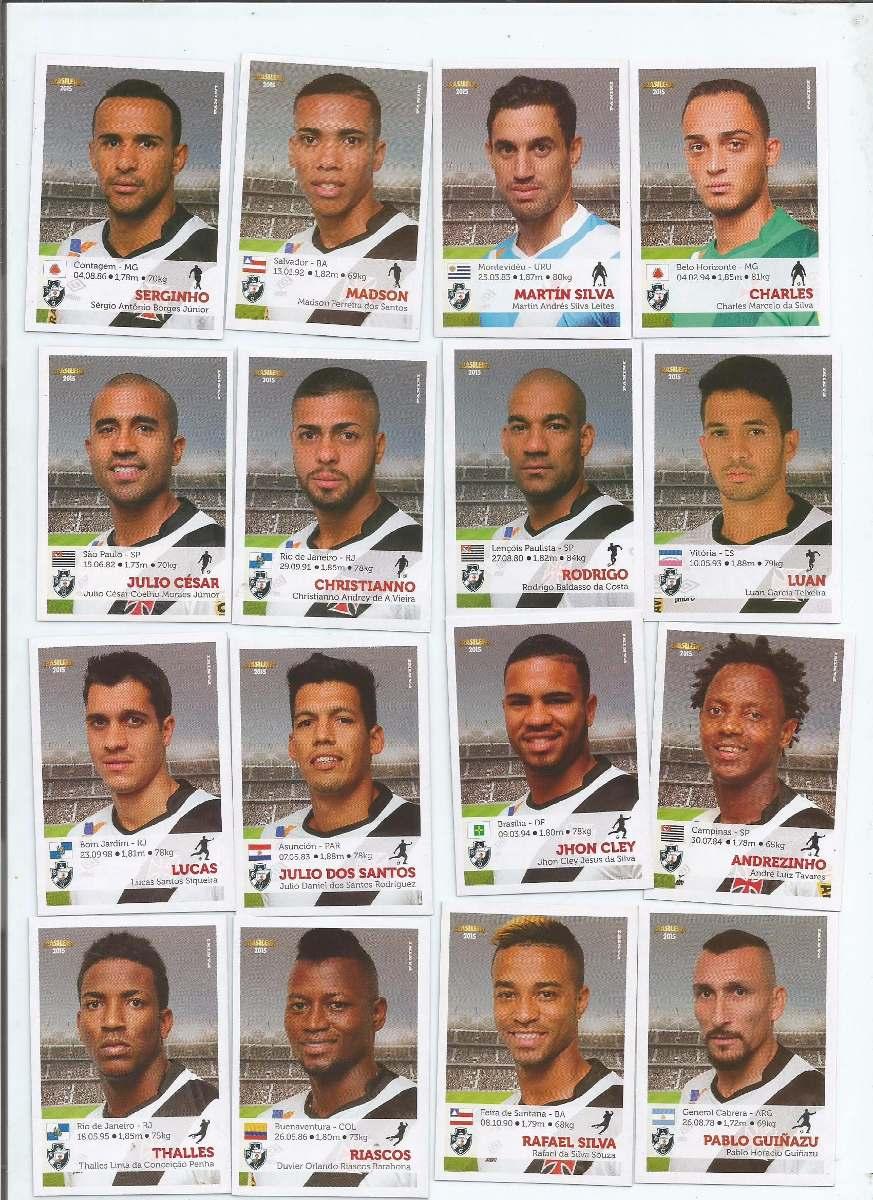 b9eb53d5a52bd Brasileiro 2015 Jogadores Time Vasco (16f.) - C  Envio 13.00 - R  13 ...