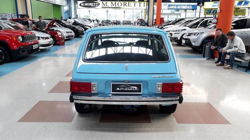brasilia 1.6 ls álcool 2p manual (turbo legalizado) 1978