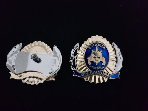 brasão de boinas-escolta armada
