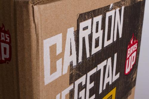 brasup carbón quebracho 4kg + iniciador natural | todoenuno