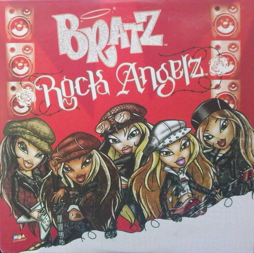 bratz rock angelz  so good  cd sencillo mexicano, raro