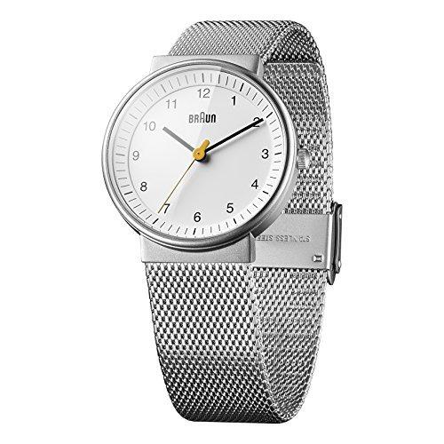 d1e6c06addf5 Braun Mujer Bn0031whslmhl Reloj Clásico De Plata Con Pulsera ...
