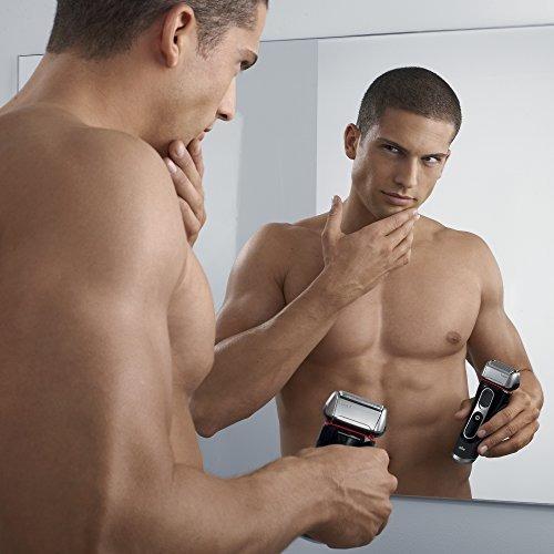 braun serie 5 5090cc eléctrica espuma de afeitar para hombre