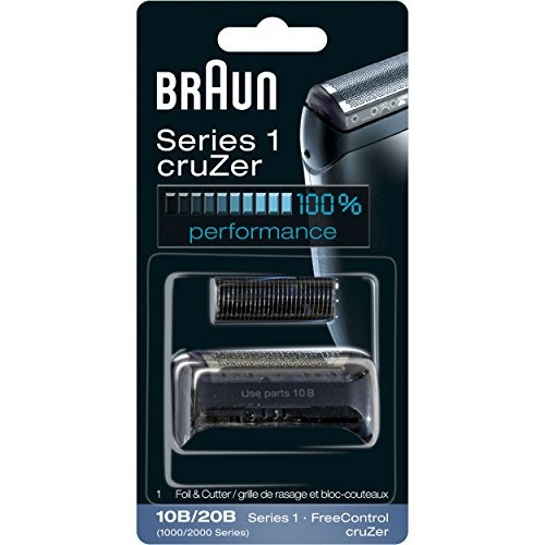 braun series 1 10b foil - cabezal de reemplazo de cortador,