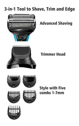 braun series 3 afeita y da estilo 3010bt 3 en 1 afeitadora