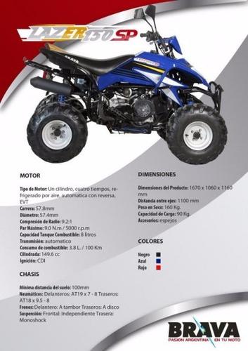brava lazer 150cc  deportivo 0km  tamburrino motos
