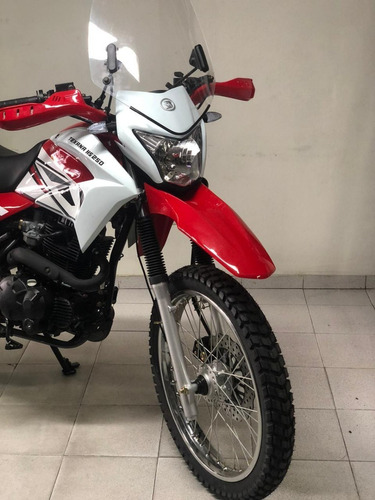 brava texana 250 0km enduro adventure skua motomel triax
