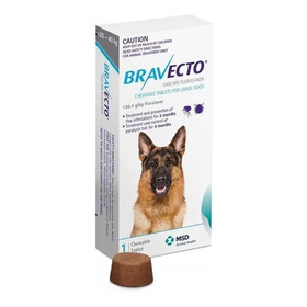 Bravecto Para Perro De 20 A 40 Kg - 1000 Mg