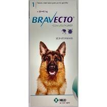 bravecto para perros de 20 a 40kg, envio gratis a todo chile