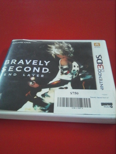 bravely second end layer para 3ds gamers code
