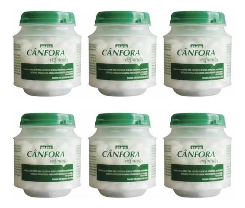 bravir cânfora pastilhas arredondadas c/200 (kit c/06)
