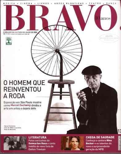 9b5530c1b90c0 Bravo! 131 Julho 2008 Marcel Duchamp o Homem Que Reinventou - R  23 ...