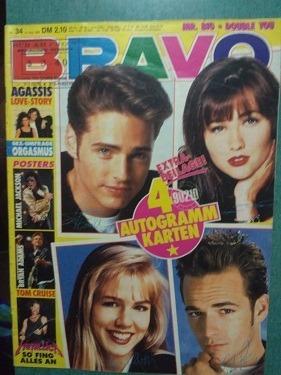 bravo - revistas alemana de música 1990/1992, c/u $ 50
