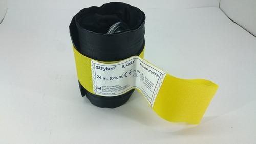 brazalete 2 vías 24in p/ torniquete zimmer y stryker nuevo