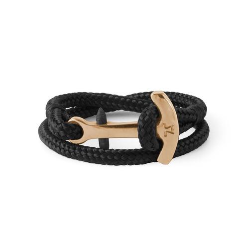brazalete ancora textil negro aptx-op-txpro-1