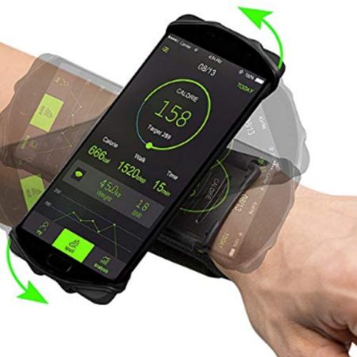 brazalete antebrazo para celular giratorio 360 grados