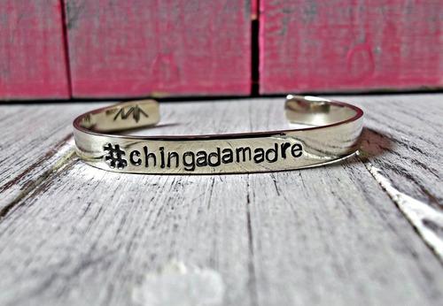 brazalete #chingadamadre , accesorio de moda (envio gratis)