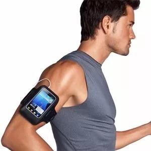 brazalete correr porta celulares running 10 x 16 cm
