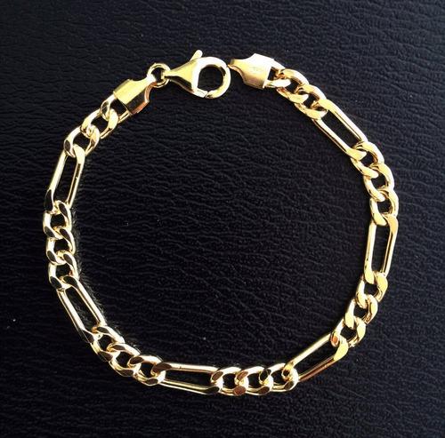 brazalete de plata chapado en oro traído de italia tipo 5