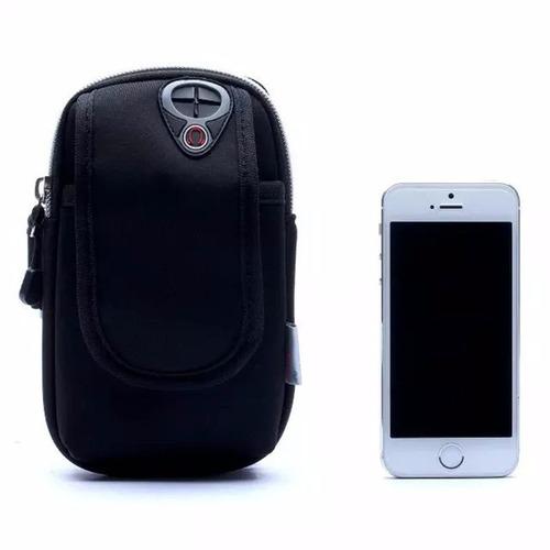 brazalete deportivo celular bolso correr gym iphone samsung