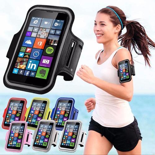 brazalete deportivo celular brazo 5.5a6 iphone samsung otros