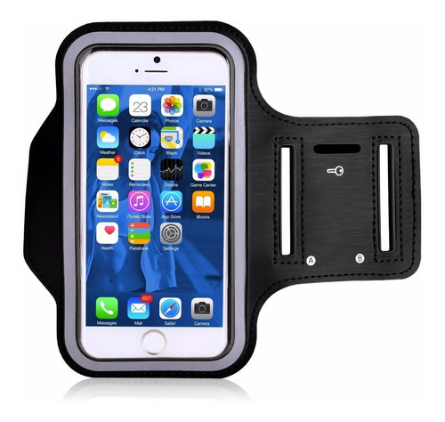 brazalete deportivo iphone android tactil runner - nice home