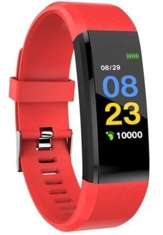 brazalete deportivo smartband id115 naranja- nuevo