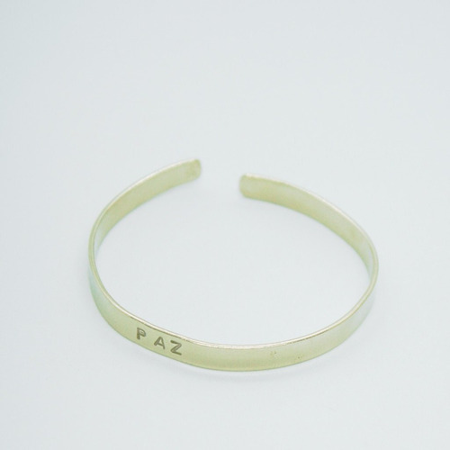 brazalete esclava paz (5 mm.)