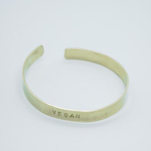 brazalete esclava vegan (5 mm.)