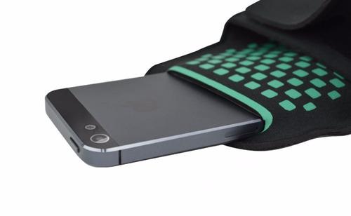 brazalete estuche celular iphone ipod perfect choice 332756