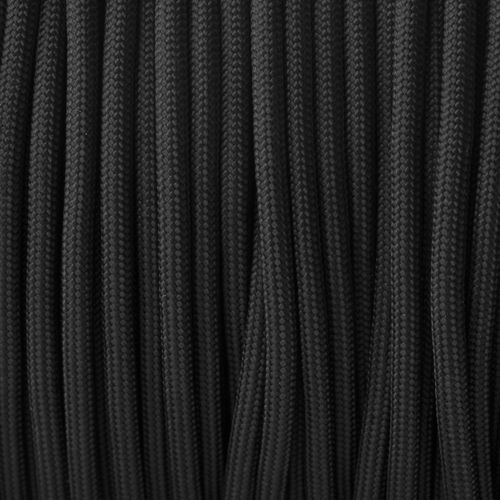 brazalete fly  negro & negro paracord rbf®
