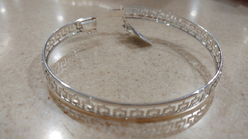 brazalete grecas plata 0.925